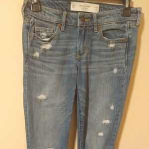 Abercrombie & Fitch Blue Jeans Skinny Size 00R
